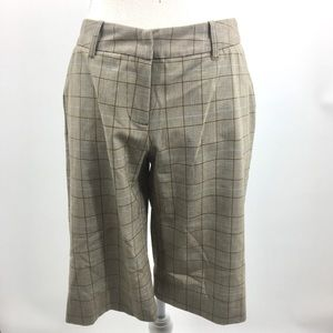 *Micheal Kors Shorts l Tan Plaid Pattern. Sz 4.